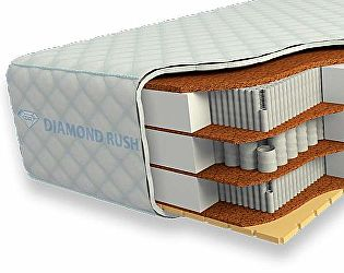 Купить матрас Diamond Rush Cocos-2 Ergo 40sm+